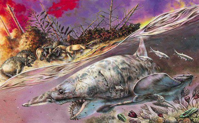 Extincția cauzată de Permian