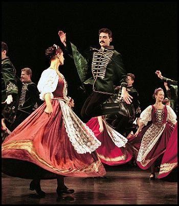 Dans maghiar - melodie și sincopă