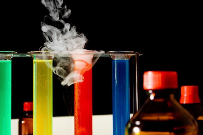 materiei chimiei substanței
