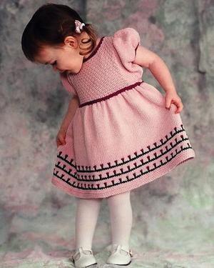 De tricotat pentru fete, sau cum sa faci o doamna din fiica ta
