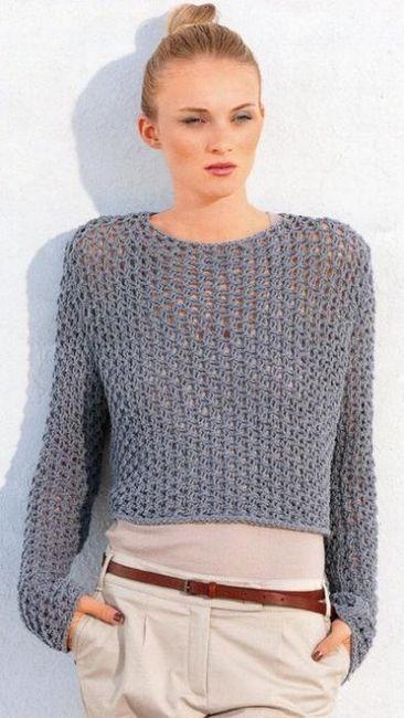 Tricotat cu ace de tricotat: modelele deschise sunt mult mai simple decât par