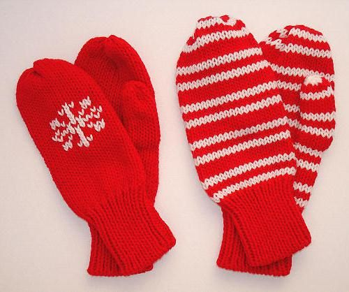 Mănuși de tricotat - un accesoriu cald pentru iarnă