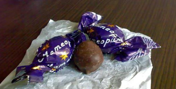 bomboane meteorit