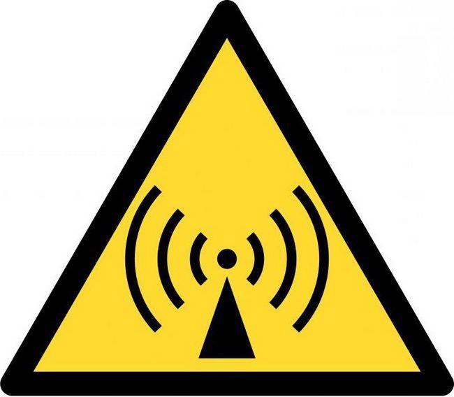 efectul radiației electromagnetice asupra unei persoane