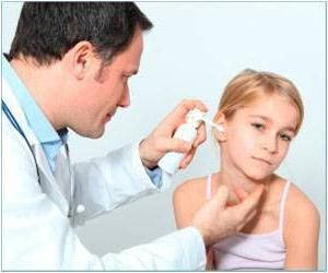 Otita la simptomele copilului