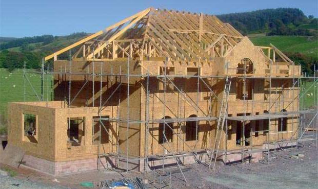 construirea de case de lemn