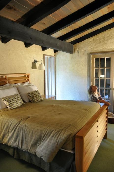 plafoane în case din lemn fotografie