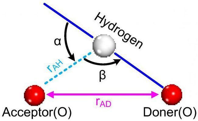 Exemple de legare la hidrogen