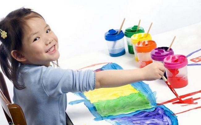 percepția formei valorii culorii