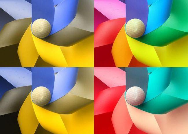 dezvoltarea percepției culorilor