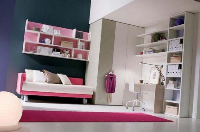 dormitor mobilier pentru fată adolescent