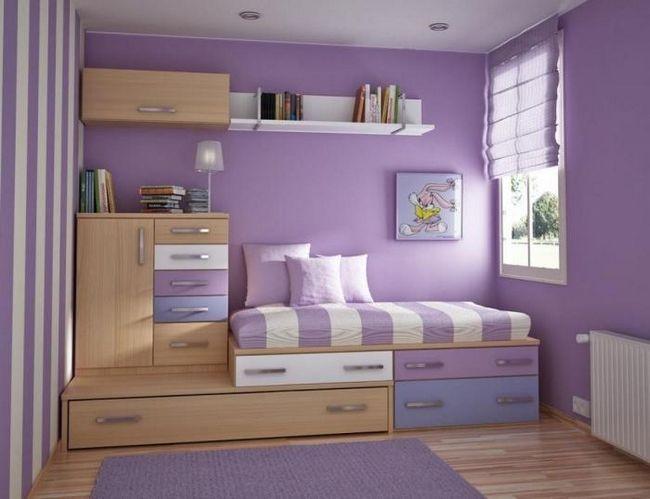 mobilier modular pentru fată adolescentă