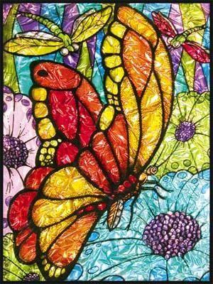 vitrine colorate