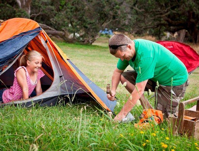 Alegerea unui loc pentru un cort
