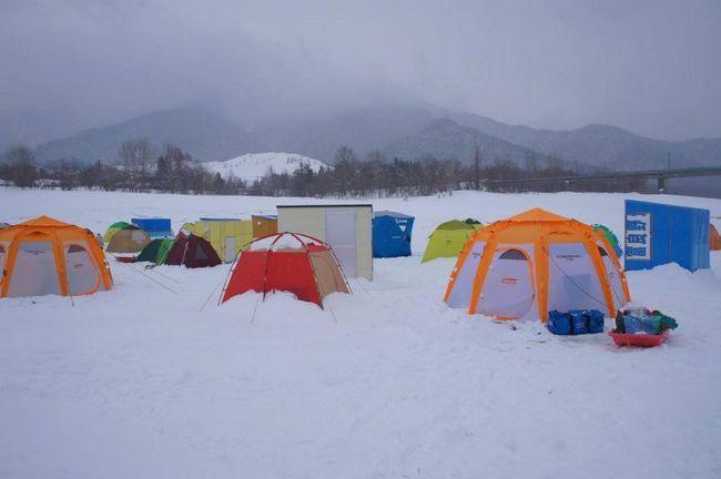 Alegerea unui cort pentru pescuitul de iarnă