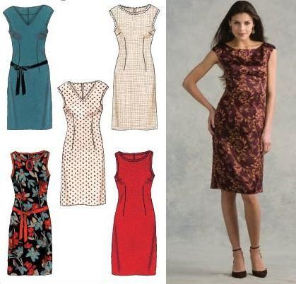 Pattern rochie-case și caracteristicile de croitorie model