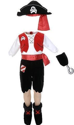 Costum de pirat amuzant pentru un fiu sau o fiica