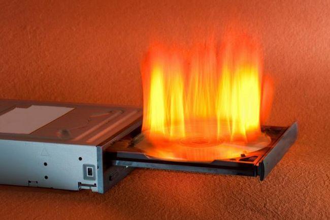 Arderea discurilor cu ajutorul instrumentelor încorporate ale sistemului de operare Windows 7