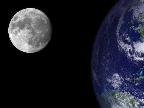 influența lunii pe pământ