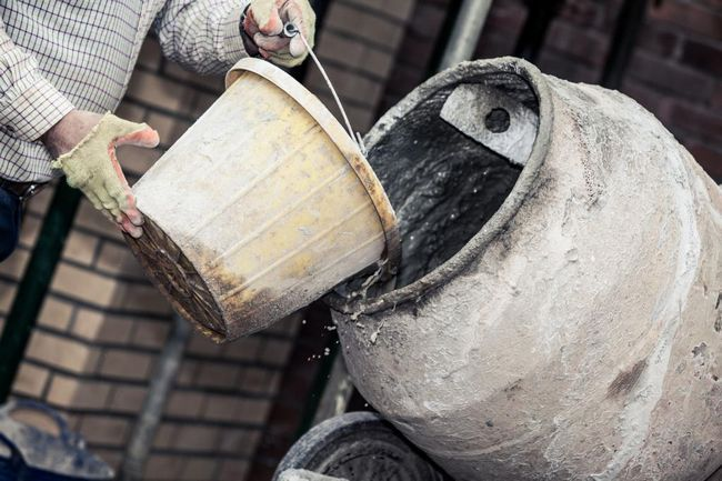 Добавление жидкого стекла в бетонный раствор