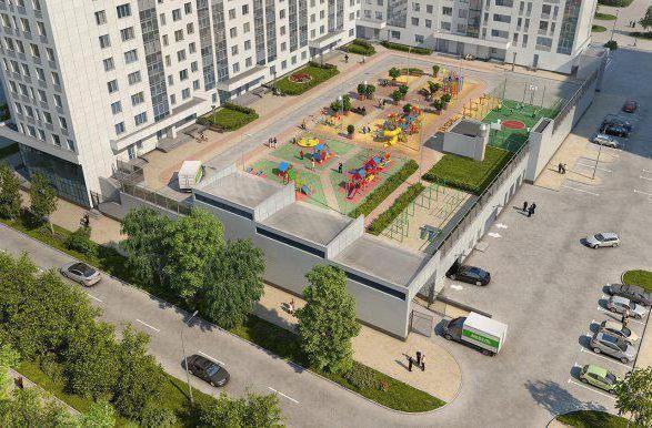 clădire nouă w. Krylov Ekaterinburg