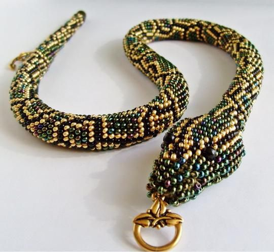 șarpe margele circuit