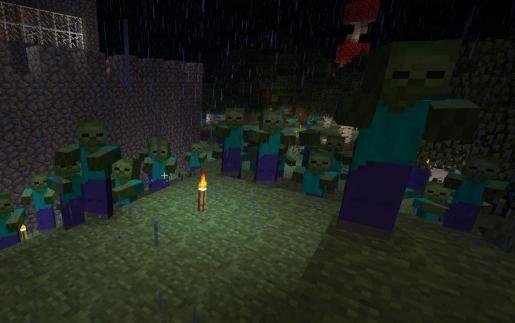 Zombie Apocalypse minecraft