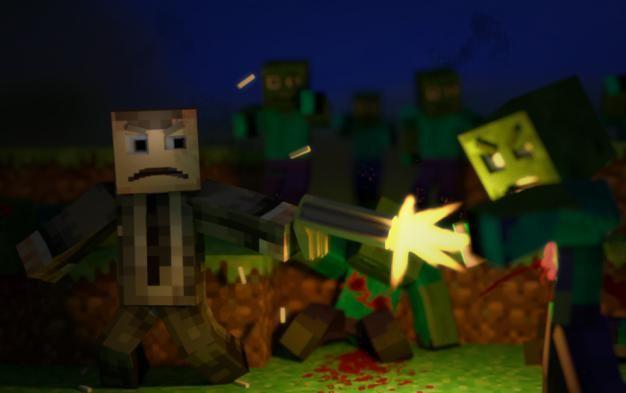 minecraft trece carte de apocalipsa zombie