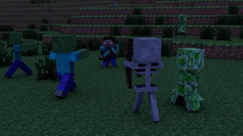 minecraft card zombie apocalipsa